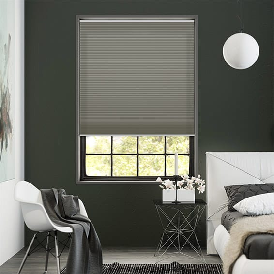 DuoShade Cordless Zinc Thermal Blind