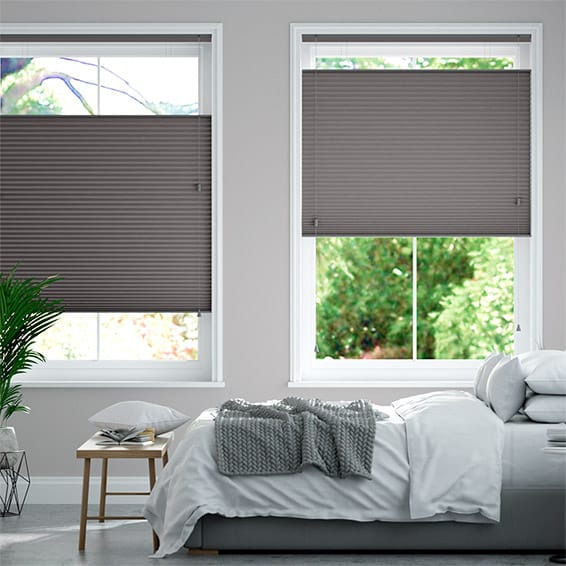 DuoShade Dark Grey Top Down/Bottom Up Thermal Blind