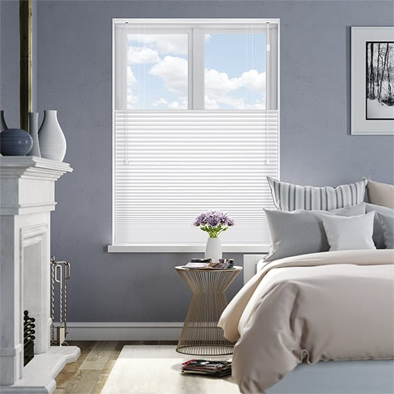 DuoShade White Dove Top Down/Bottom Up Thermal Blind