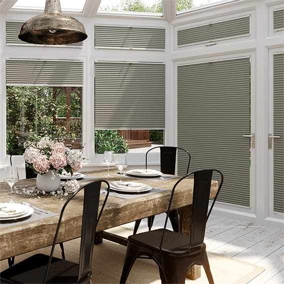 DuoShade Gainsboro Grey EasiFIT Thermal Blind