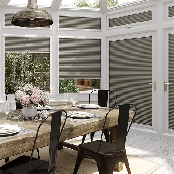 DuoShade Gainsboro Grey PerfectFIT Thermal Blind