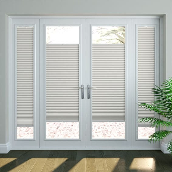 DuoShade Grey PerfectFIT Thermal Blind