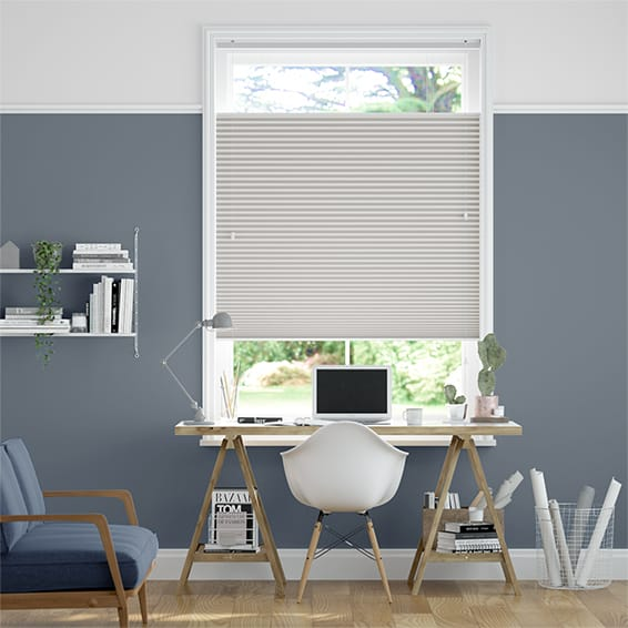 DuoShade Grey Top Down/Bottom Up Thermal Blind