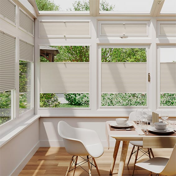 DuoShade Ivory  PerfectFIT Thermal Blind