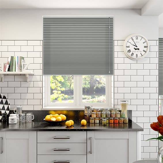 DuoShade Nickel Grey Thermal Blind