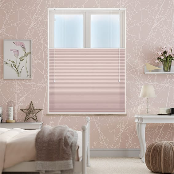 DuoShade Pink Blush Top Down/Bottom Up Thermal Blind