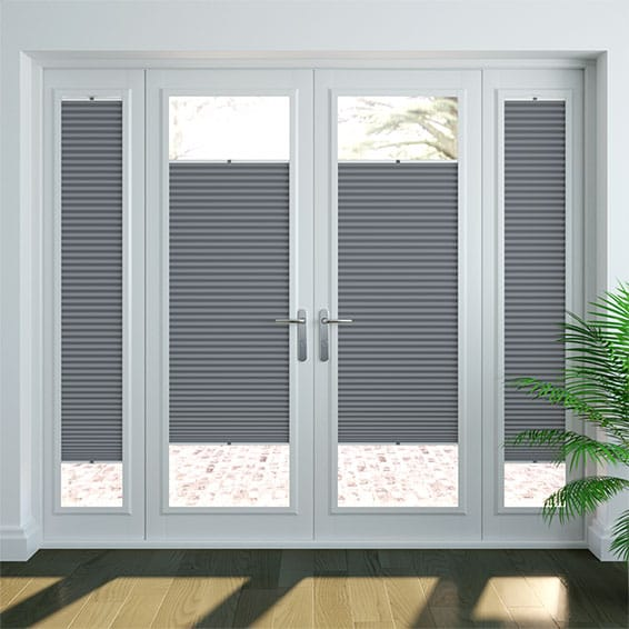 DuoShade Slate Blue PerfectFIT Thermal Blind