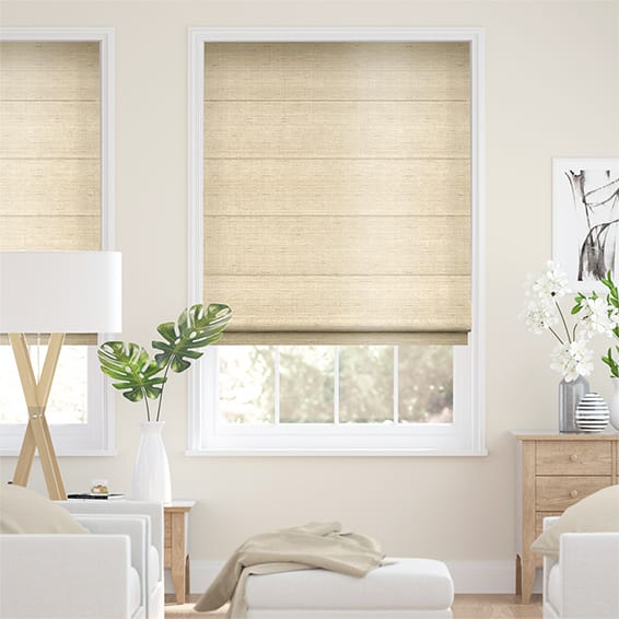 Roman Blinds Huge Savings On Our Faux Silk Blinds