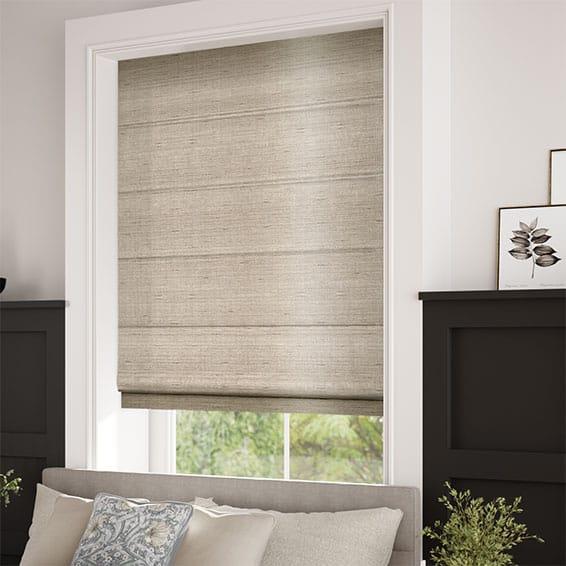 Bedroom Blinds 2go Elegant Faux Silk Roman Blinds