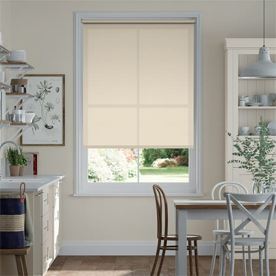 Eco-Friendly Dimout Sandstone Roller Blind