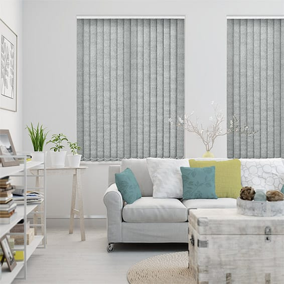 Edwin Dove Grey Vertical Blind