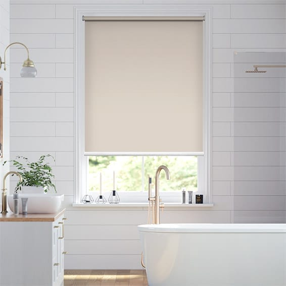 Electric Blackout Titan Sandstone Roller Blind