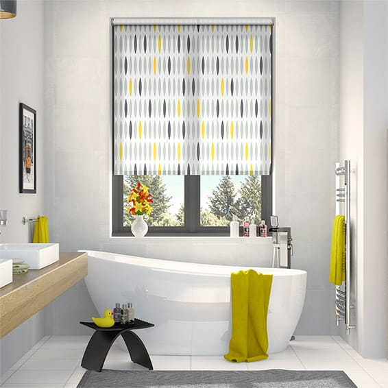 Ellipsis Lemon Roller Blind