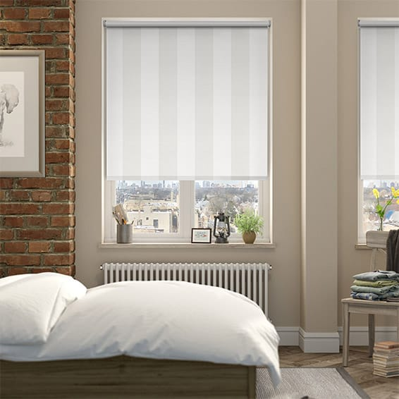 Empathy Cotton White Blackout Roller Blind