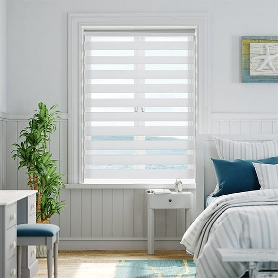 Enjoy Dimout Frosted White Roller Blind