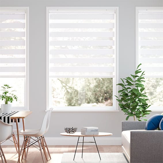 Enjoy Dimout Ice White Roller Blind