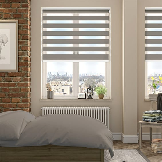 Enjoy Dimout Taupe Roller Blind