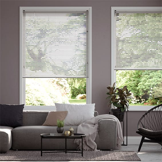 Essence Hazy Grey Venetian Blind - 25mm Slat