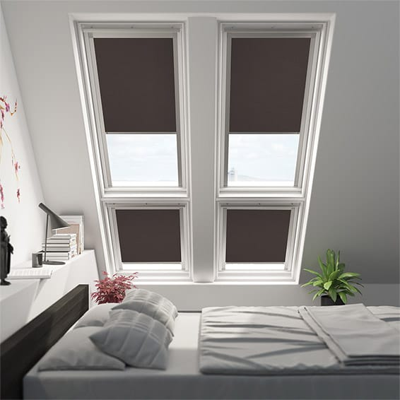 Expressions Hickory Blackout Blind for VELUX ® Windows