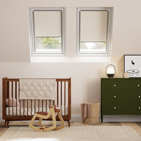 Expressions Ivory Blackout Blind for VELUX ® Windows