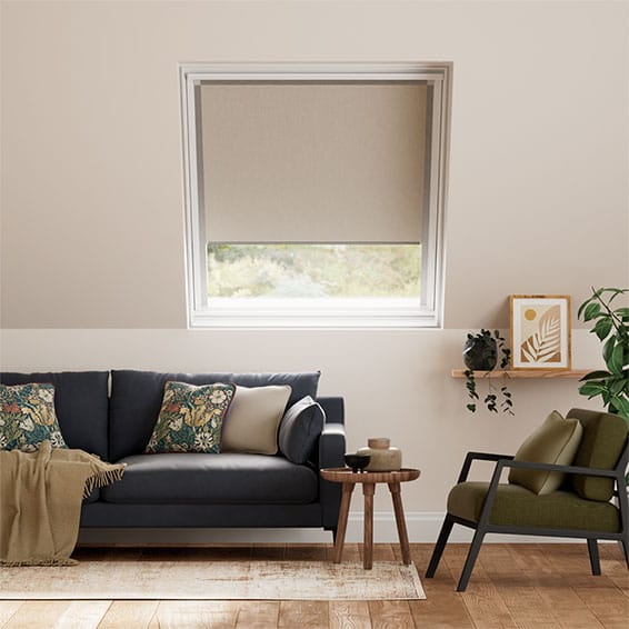 Expressions Light Taupe Blackout Blind for Fakro ® Windows