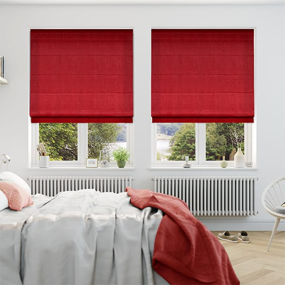 Florida Ruby Roman Blind