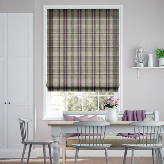 Gainsborough Mulberry Roman Blind