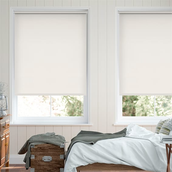 Sevilla Tranquility Cream Blackout Roller Blind