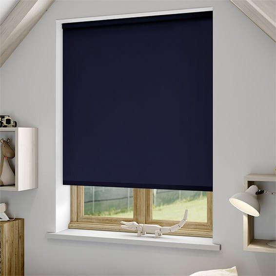 dunelm moisture blinds resistant blue product blind main roller fish daylight
