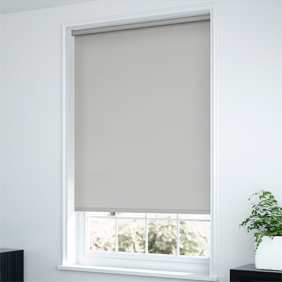 Roller Blinds To Go Soft Grey Shades Quality Blinds