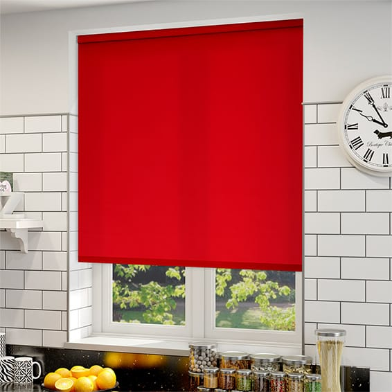 windows blinds decor budget honeycomb window cellular red for shades