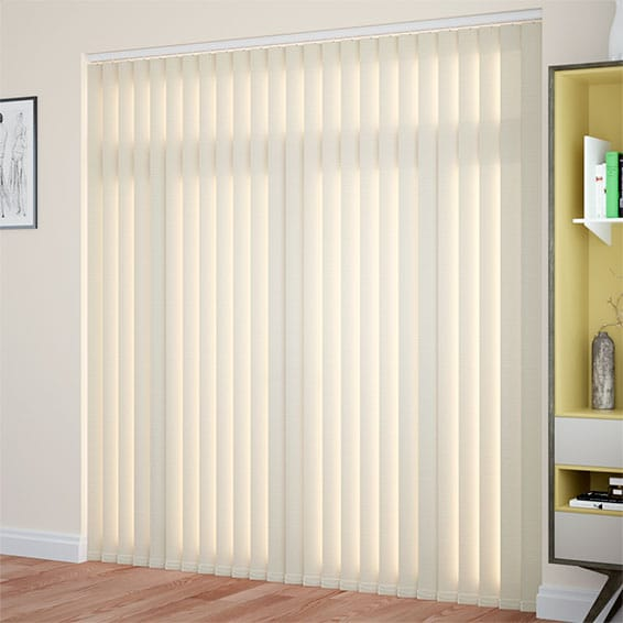 Vertical Blinds 2go Versatile Soft Cream Blinds At Great