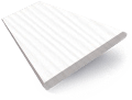 Glacier White Faux Wood Blind - 50mm Slat slat image
