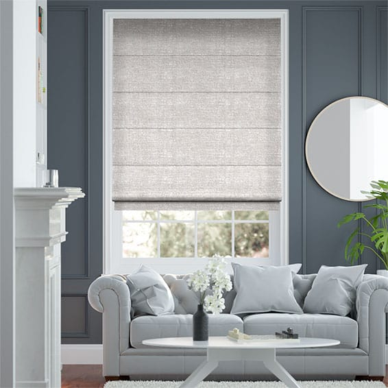 Glimmer Pebble Roman Blind