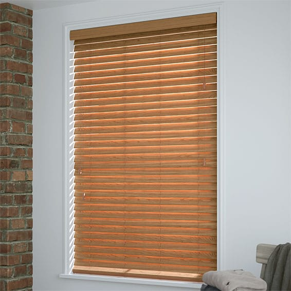 Oak Wooden Venetian Blinds Huge Savings On Faux Wood