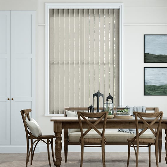 Grazia Stone Grey  Vertical Blind