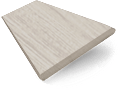 Grey Wash Faux Wood Blind - 50mm Slat slat image