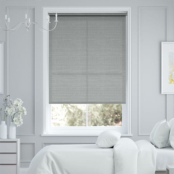 Harmonia Moon Grey Roller Blind
