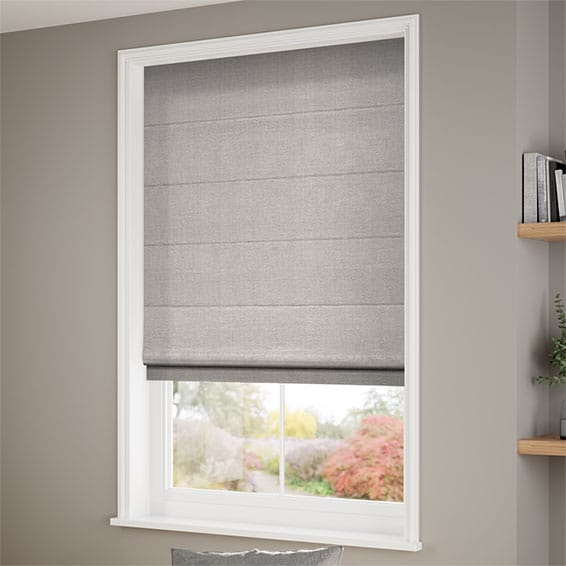 Completely new Grey Roman Blinds, Soft & Stunning Grey Shaded Blinds 2go™ VD13