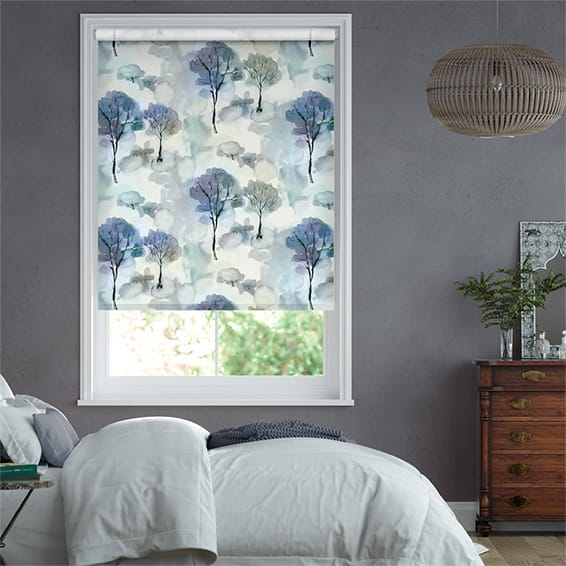 Helios Blackout Midnight Roller Blind