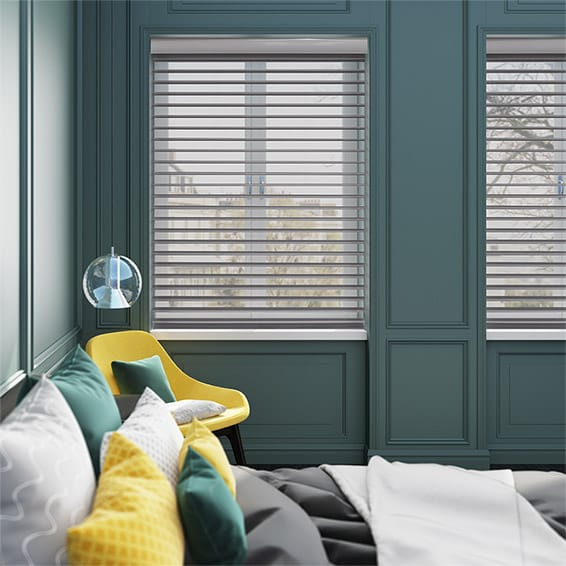 Illusion Cool Grey Roller Shade