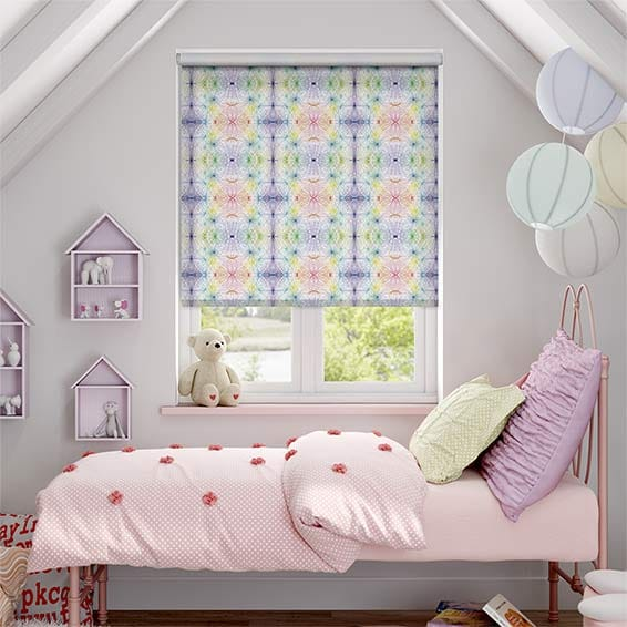 Kaleidoscope Vibrancy Blackout Roller Blind