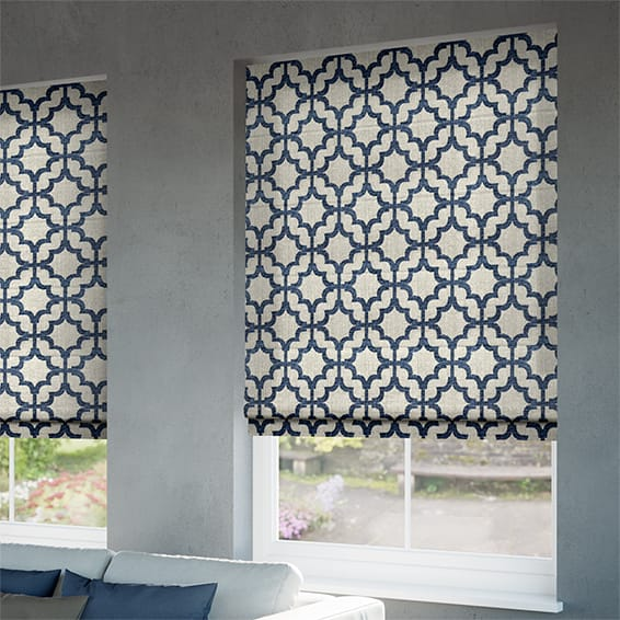 made to measure roman blinds shop our big range of styles colours. Black Bedroom Furniture Sets. Home Design Ideas