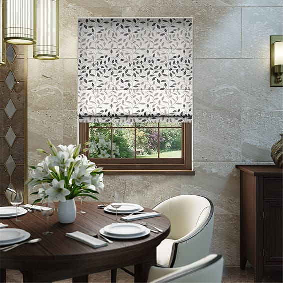 Leadale Midnight Roman Blind