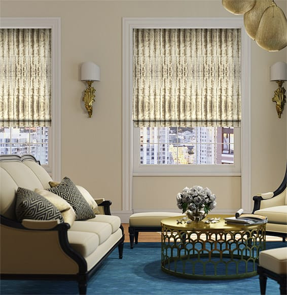 Libertine Gold Roman Blind
