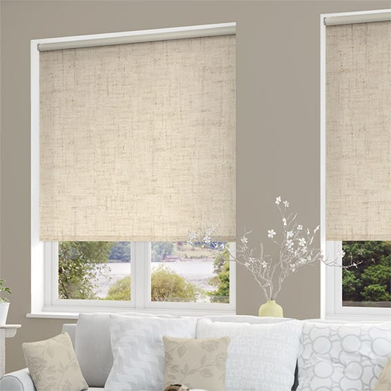 il beige roman color linen shade lynl blinds listing blind in