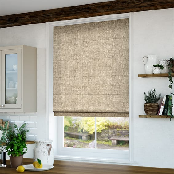 Roman Blinds Made To Measure Beautiful Fabrics Amp Simple