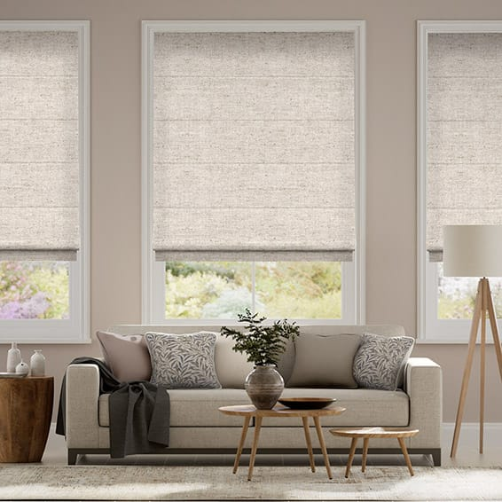 by sanderson blinds tatami brewers roman roller charcoal home products linen stripe