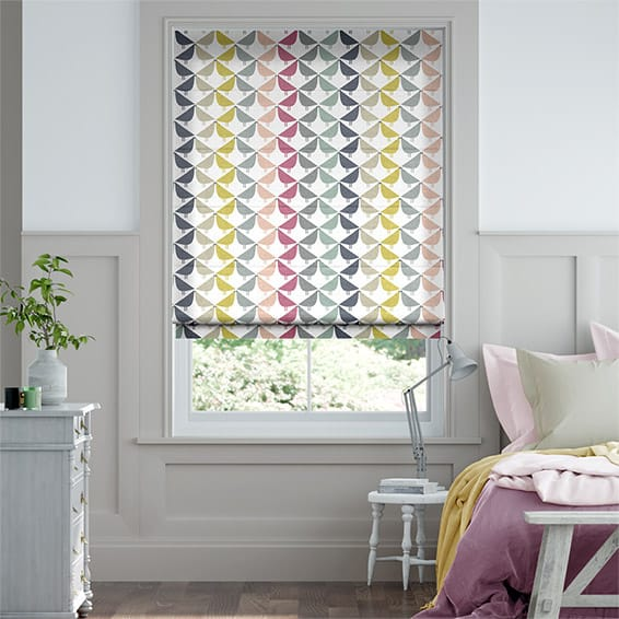 Lintu Berry Crush Roman Blind