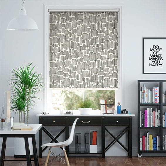 Little Trees Monochrome Roller Blind